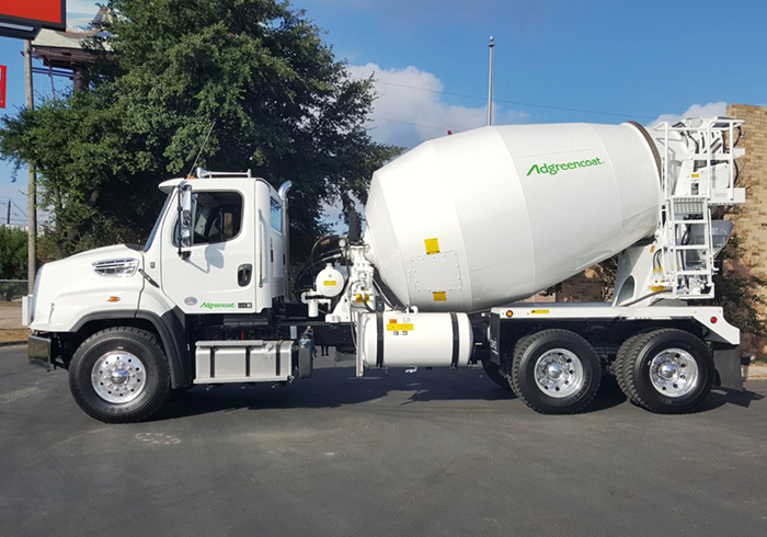 Adgreencoat Cement Truck
